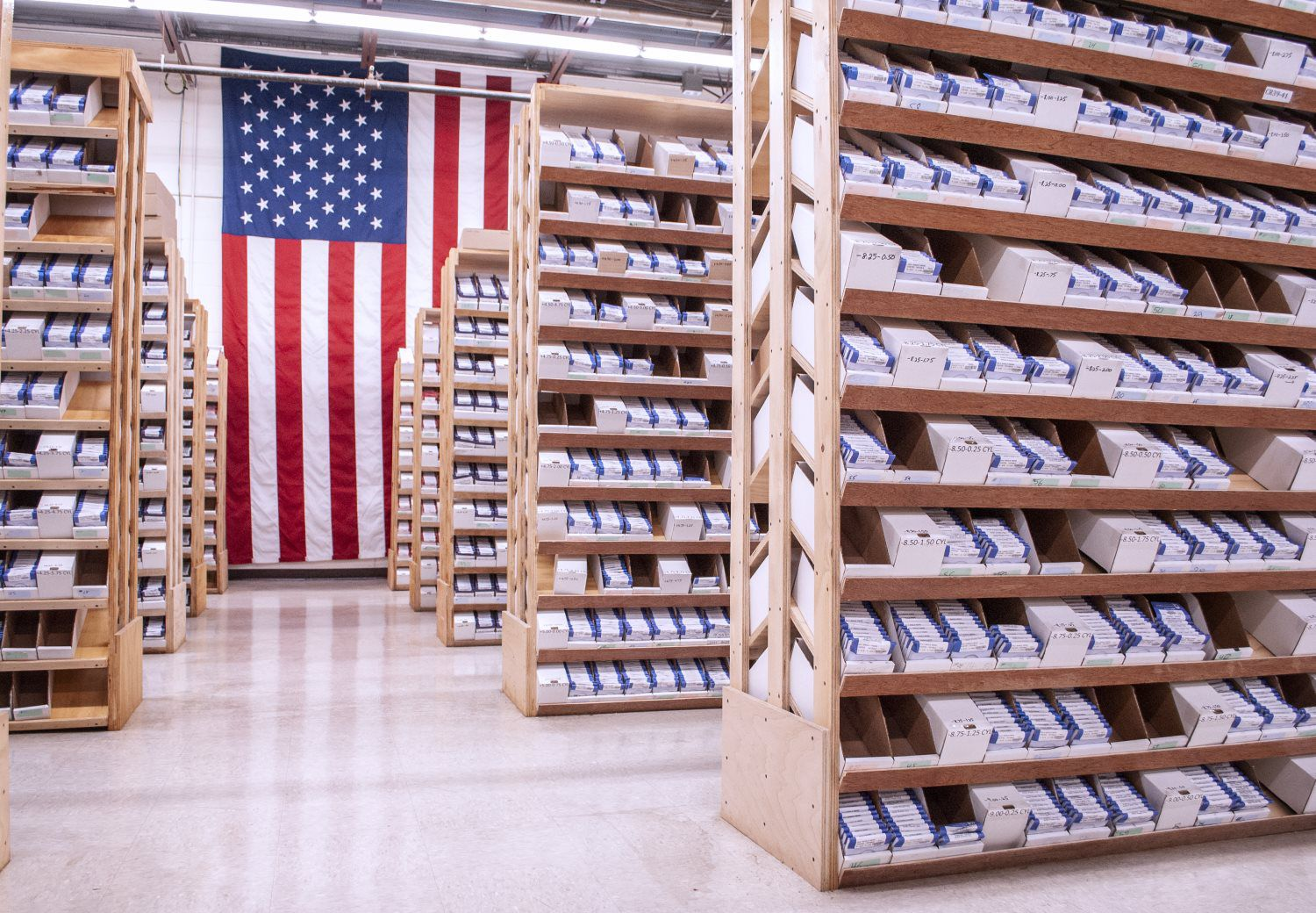Manufacturing In The USA As one of few companies remaining in the domestic frame manufacturing business, we offer an ever-growing selection of eyewear styles and lens options to fit any lifestyle.