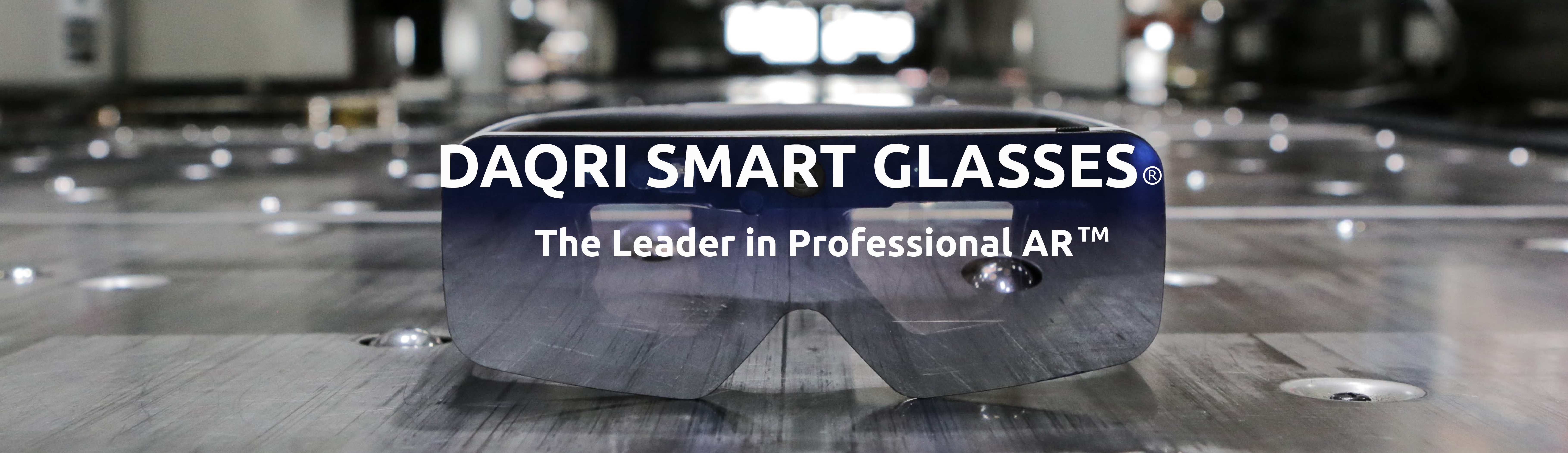 Daqri Smart Glasses Page Header